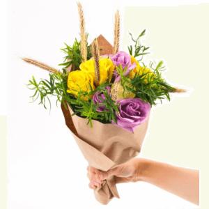 мини-букеты из цветов фото